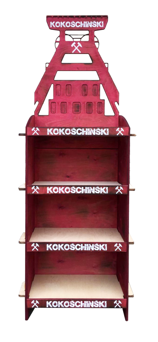 Kokoschinski Verkaufsdisplay