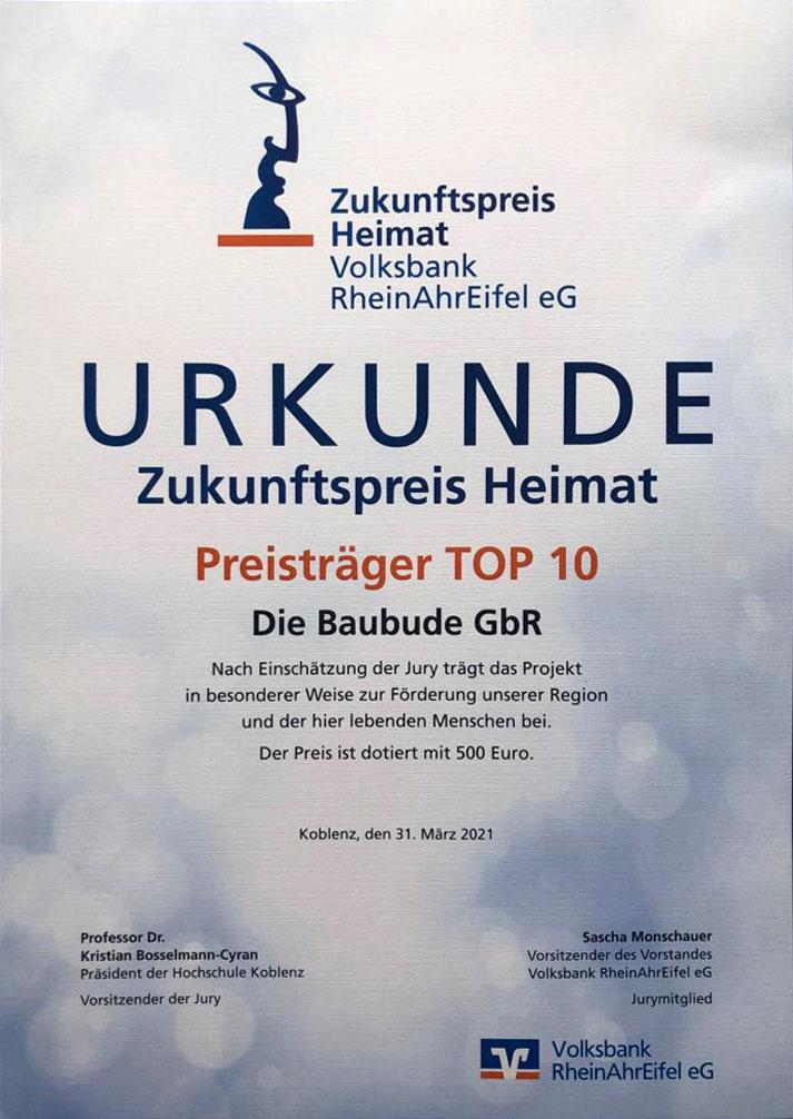 Zukunftspreis Volksbank